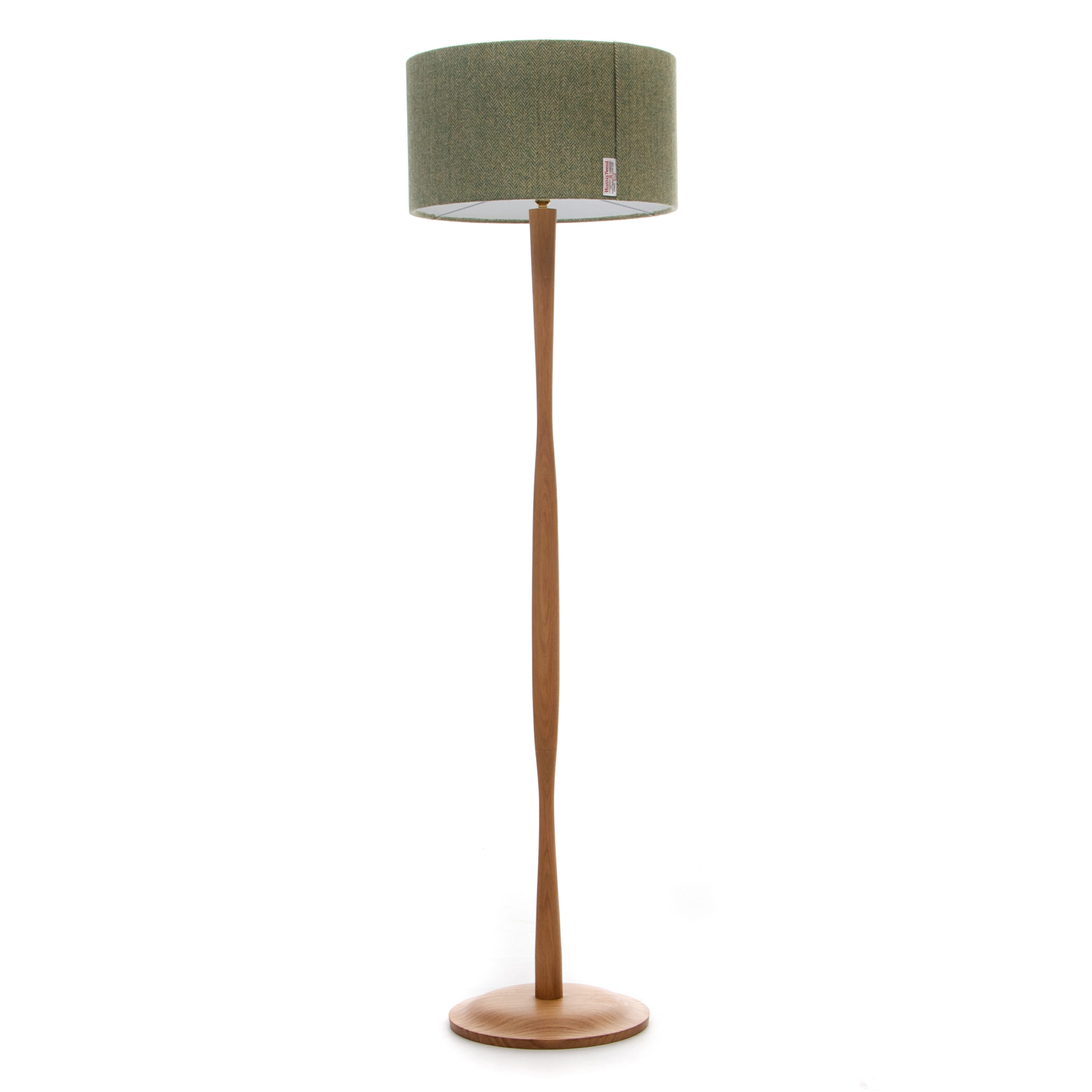Wave floor lamp